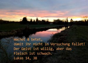 Lochbach- Augsburg - Bibelzitat- Foto: Christine Danzer - go 4 Jesus