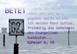 Bodensee -Betet mit Epheser 6,19-Foto: Christine Danzer, go 4 Jesus, Bibel