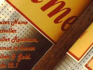 Bibelzitat, Sprüche, Name, Foto: Danzer, Walter, go 4 Jesus