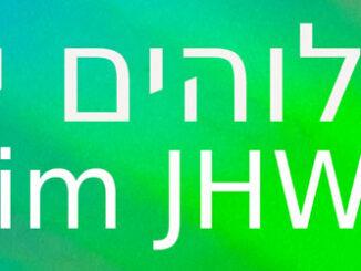 Name Gotts,JHWH, Haschem, go 4 jesus, Foto: Christine Danzer