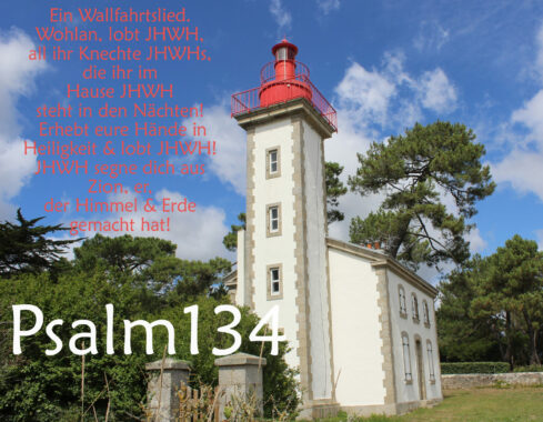 Bibel, Leuchturmkirche mit Psalm 134, Foto: Thomas Hoffmann, go 4 Jesus